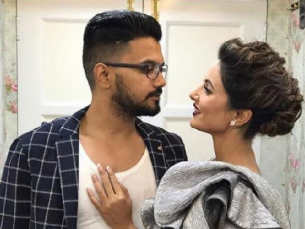Hina Khan, Rocky Jaiswal